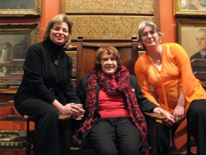 Elena Nistor, Katherine Gallagher, Anne Stewart