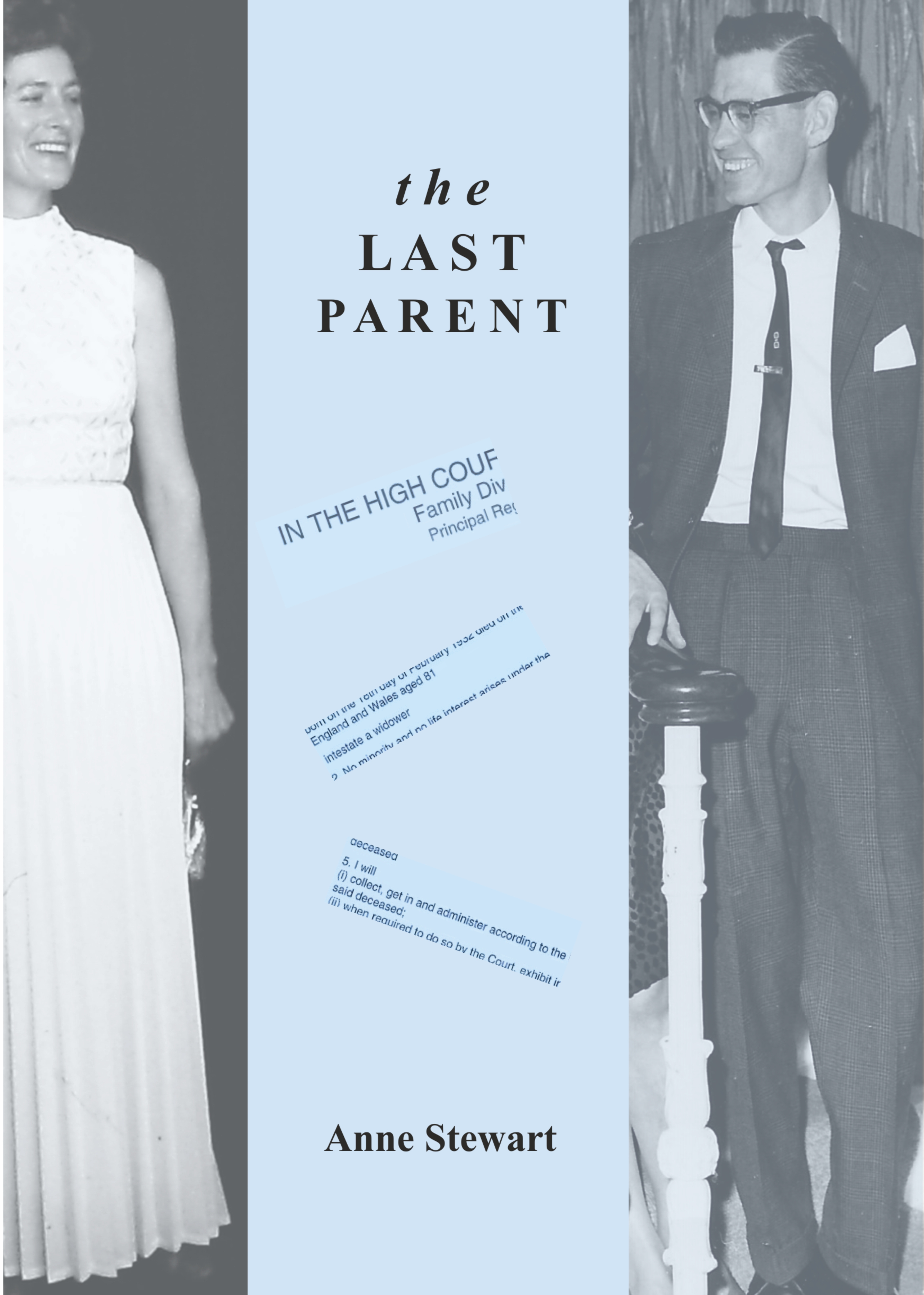 The Last Parent, cover